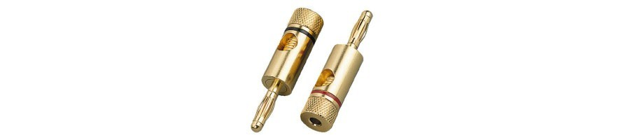 Speaker Connector. Connectors, Pole Terminals, connection for Speakers