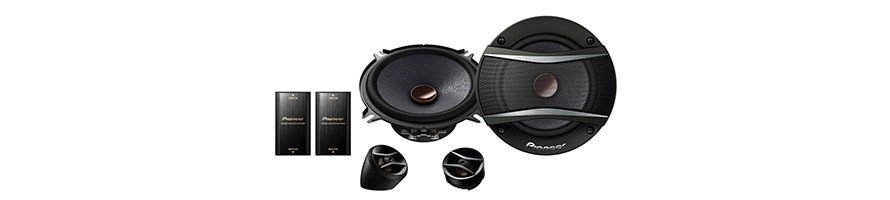 Speakers Car Audio. Separate Ways Speakers for Car Audio