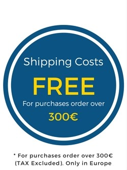 Free Shipping Costs over 300 €